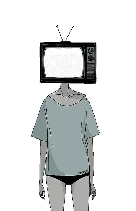 incessant reverie tv heads tv head object heads