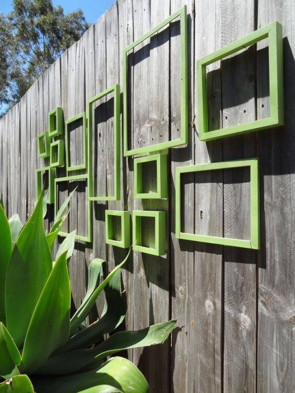 Garden Fence Wall Art