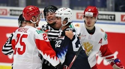 Принципиальное противостояние: сборная России играет с командой США на МЧМ-2021 по хоккею