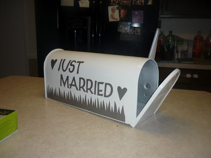 "wedding envelope box!  I would put the newlyweds names on it...like 'The Smiths""!!"