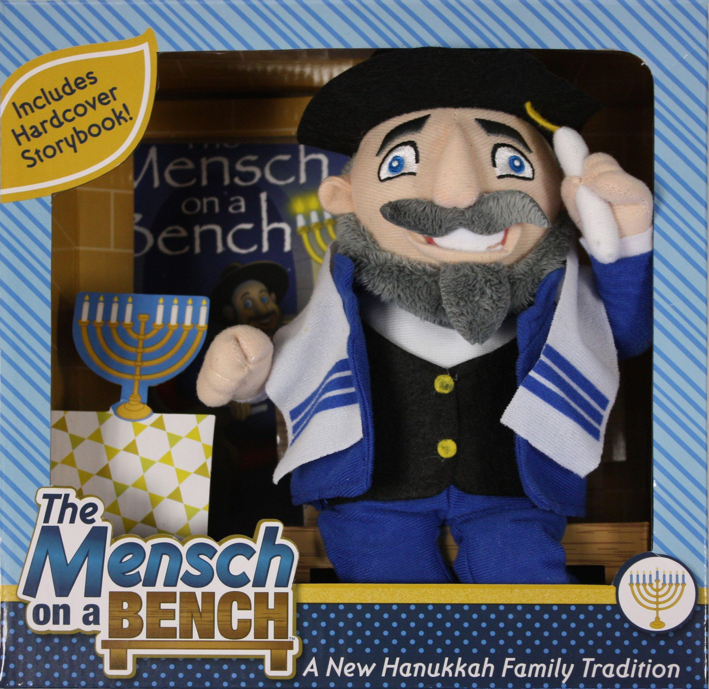 Meet Mensch On A Bench Jewish Counterpart To Elf On The Shelf Wbaa