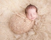 Snuggle Sack - PDF PATTERN - newborn baby toddler knit photo prop swaddle