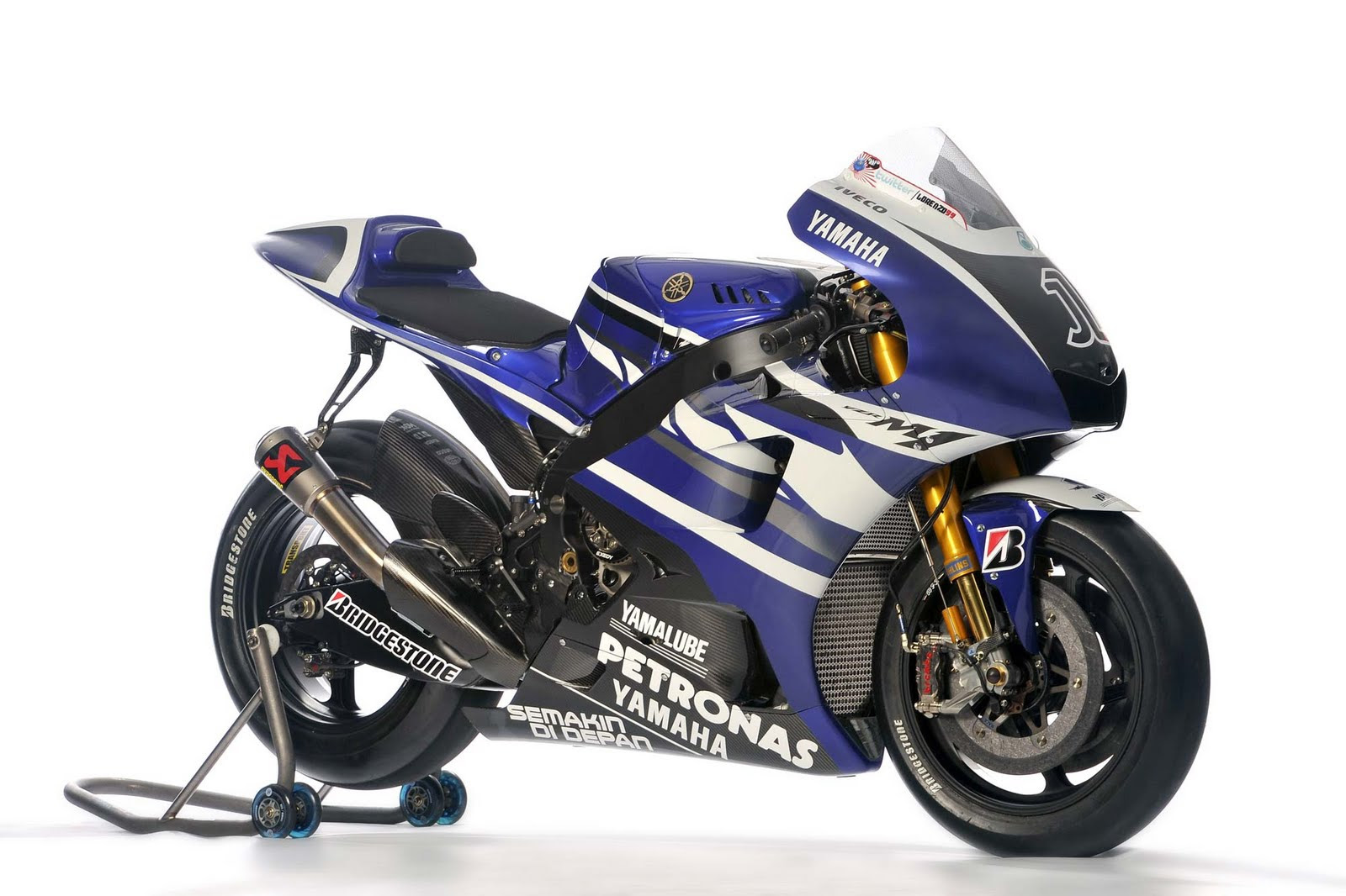 Top Motorcycle Wallpapers: 2011 Yamaha YZR-M1 MotoGP Pictures