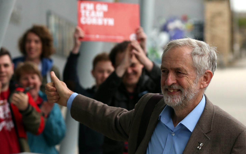 APTOPIX Britain Labour Leadership