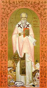 icône saint Modeste de Jérusalem, patriarche