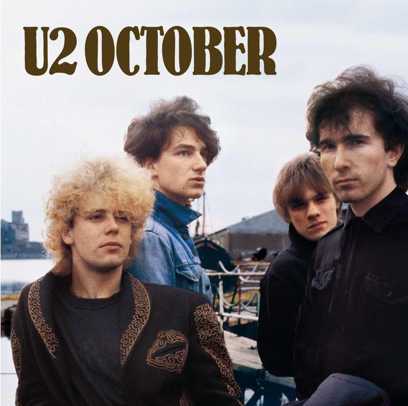 Resultado de imagen de u2 october portada