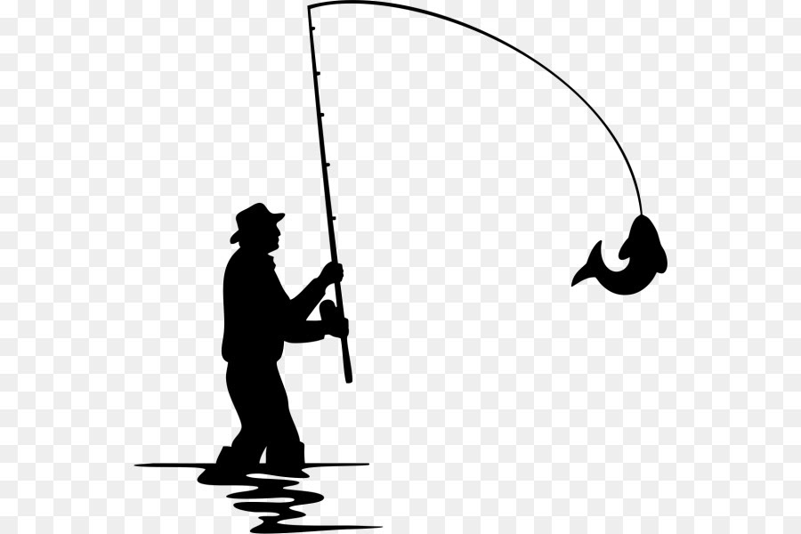 Download Fly Fishing Silhouette Fishing Png Download 600 600 Free Transparent Fishing Png Download Clip Art Library