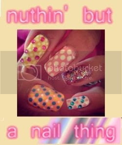 Claire at nuthin' but a nail thing