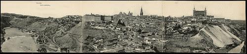 Vista general de Toledo hacia 1900.