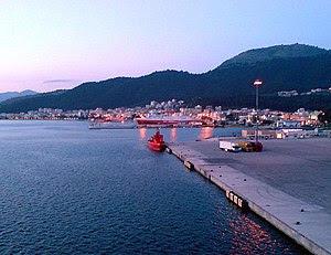 English: Port of Igoumenitsa, Thesprotia prefe...