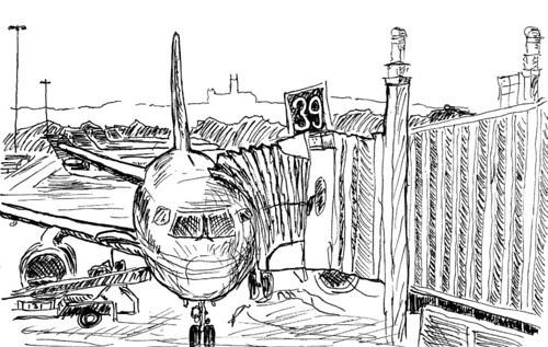 Gate 39 at National Airport