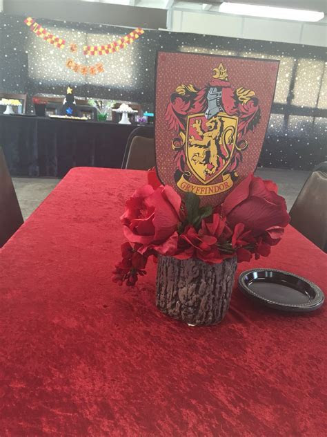 Harry Potter centerpiece   Omg by me!   Pinterest   Harry