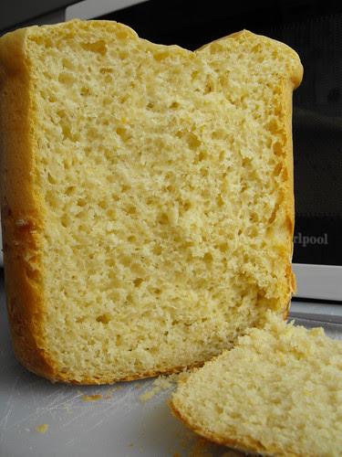 Pão doce com sabor a laranja