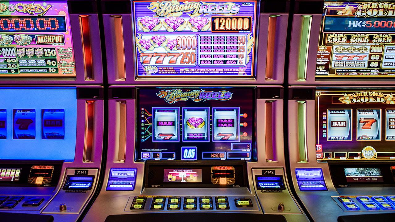 Casino slot machine odds of winning