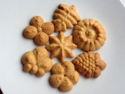 Mutfak Maceralarım: Bisküvi Presi ile Çay Kurabiyesi