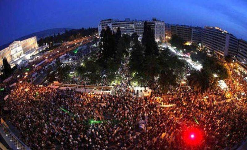 """Κάλεσμα της ΛΑ.Ε σε συγκέντρωση την Τρίτη 5 Ιουλίου για την πρώτη επέτειο του περήφανου """"ΟΧΙ"""" στο δημοψήφισμα"""