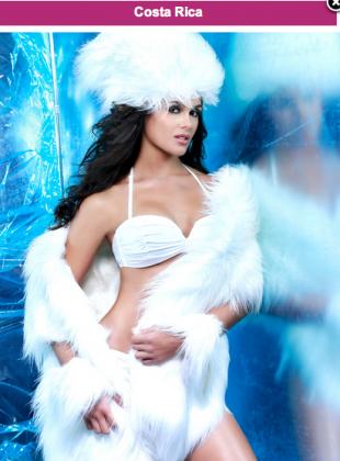 Miss Costa Rica, Fabiana Granados