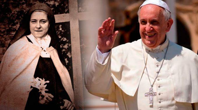Santa Teresa Del Niño Jesús Y Los Papas