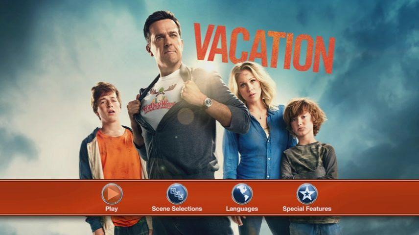 Vacation (2015) - DVD Movie Menus