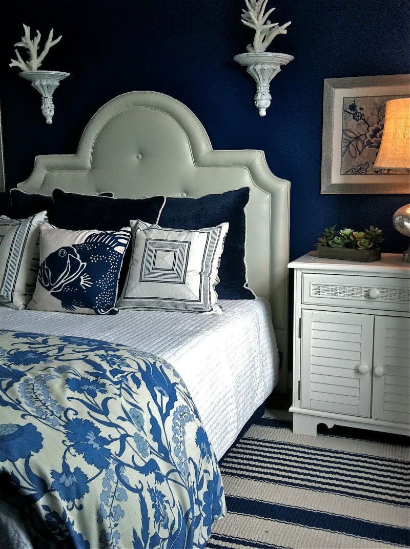10 Charming Navy Blue Bedroom Ideas – Master Bedroom Ideas