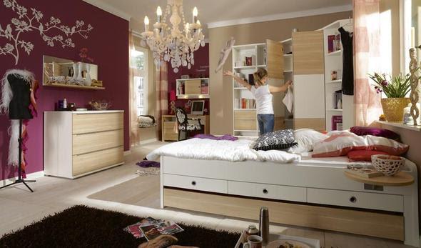 Jugendzimmer wandgestaltung farbe mädchen  De.pumpink.com | Wohnzimmer Malen Farbe