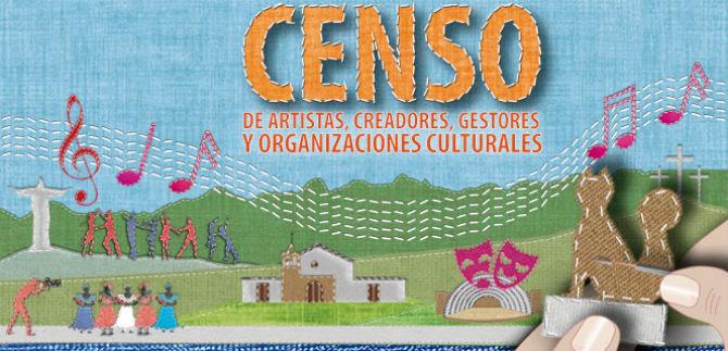 Se inicia censo de artistas este martes
