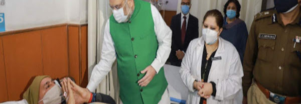 Home minister Amit Shah visits hospital to enquire about health of cops injured in R-Day violence