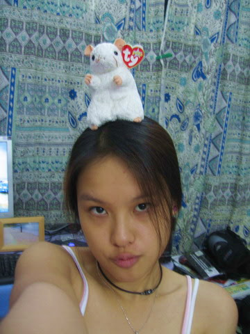 mousy on head