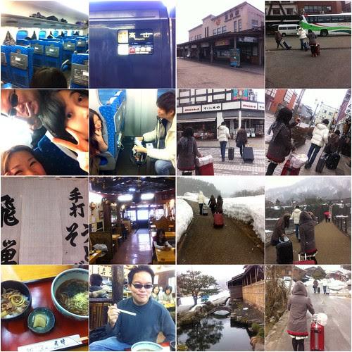 The journey to Shirakawa-go