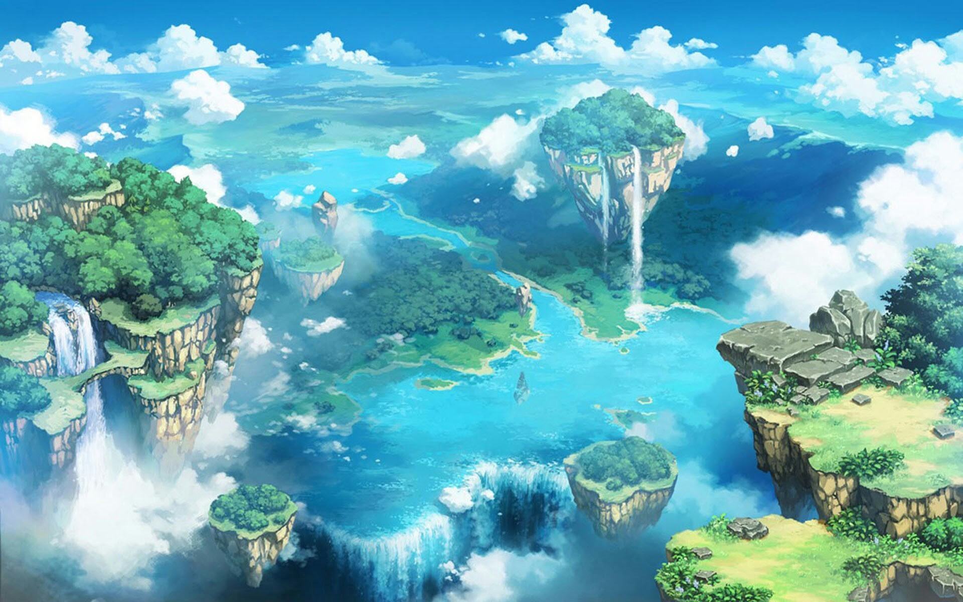 Nature Wallpaper Nature Anime Background