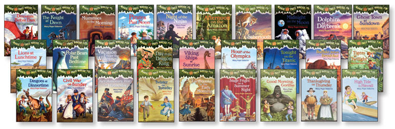 Image result for Magic Tree HOuse books