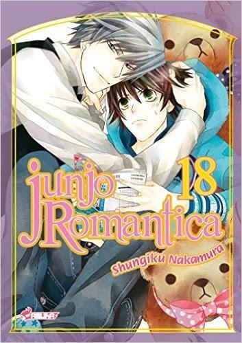 Couverture Junjo Romantica, tome 18