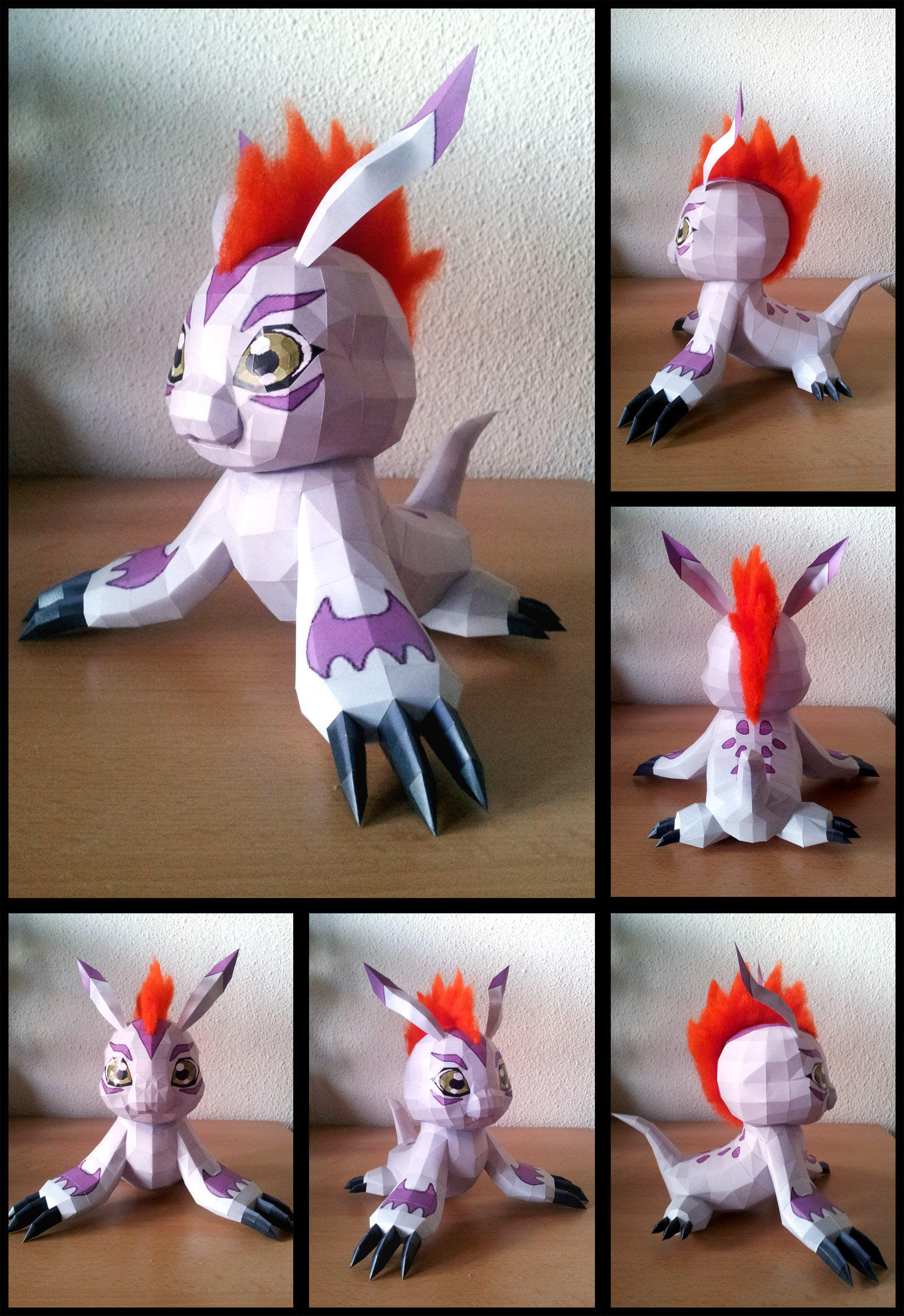 Digimon Gomamon Papercraft