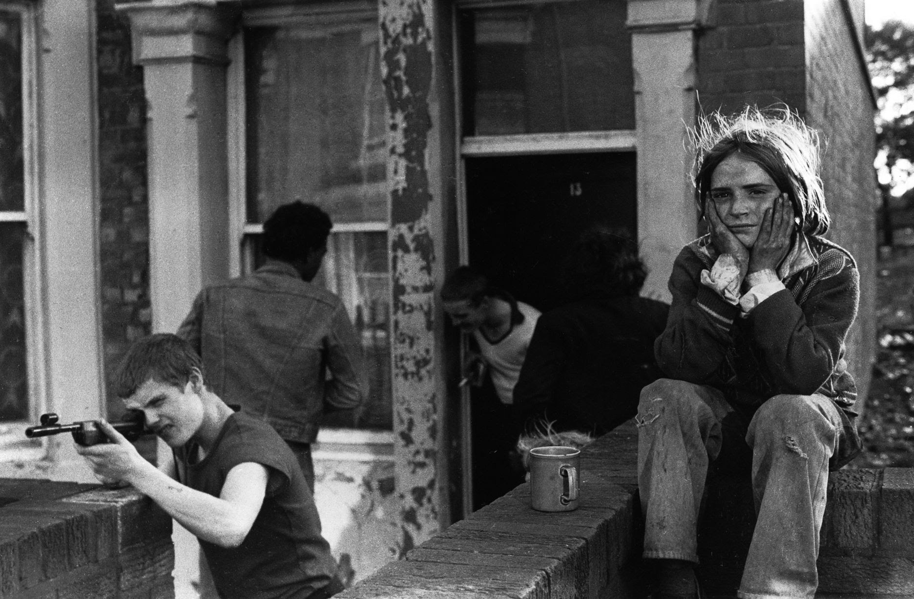 Youth unemployment, Elswick, 1981, by Tish Murtha, from the exhibition For Ever Amber at Newcastle's Laing Art Gallery