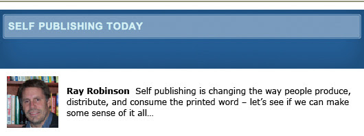 Self-Publishing Today blogs