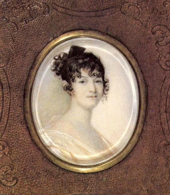 Мать Александра Пушкина - Надежда Осиповна Пушкина, урожденная Ганнибал матери, такие разные
