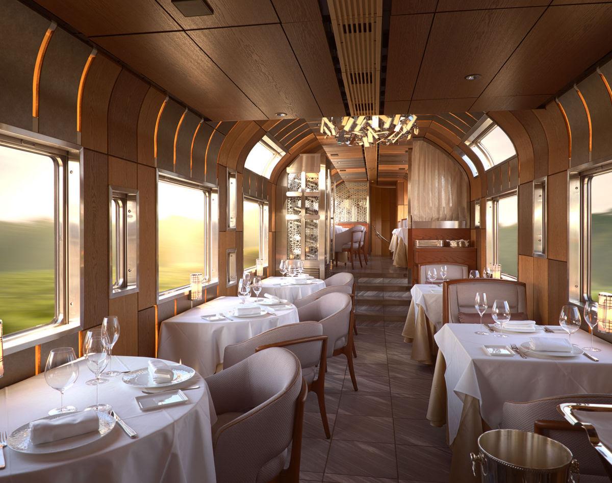O interior do Shiki-shima: o trem mais luxuoso do mundo que atravessa o Japão 11