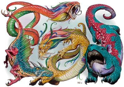 Asian Dragons