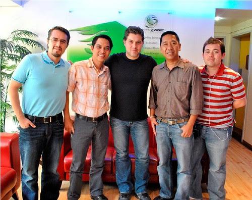 3 (L-R) Eduardo Jimenez, Erwin Escubio, Ricardo Arnaiz, Jessie Lasaten, Nathan Sifuentes
