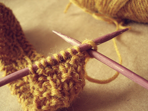 Back to knitting...