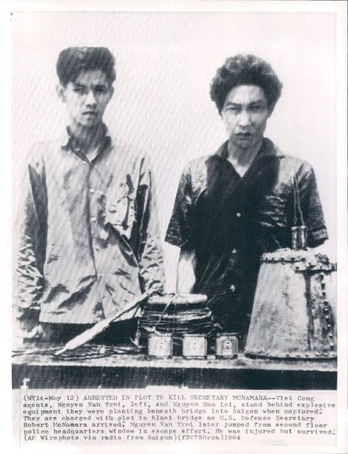 Saigon 1964 - Arrested in Plot to Kill Defense Secretary Robert McNamara
