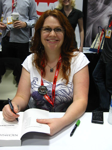andrea cremer at sdcc 2011