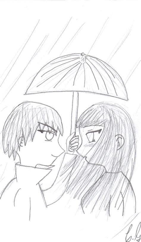 cute anime couple drawing  getdrawingscom