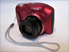 My new little red camera...