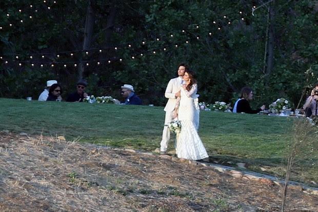 Ian Somerhalder e Nikki Reed (Foto: AKM)