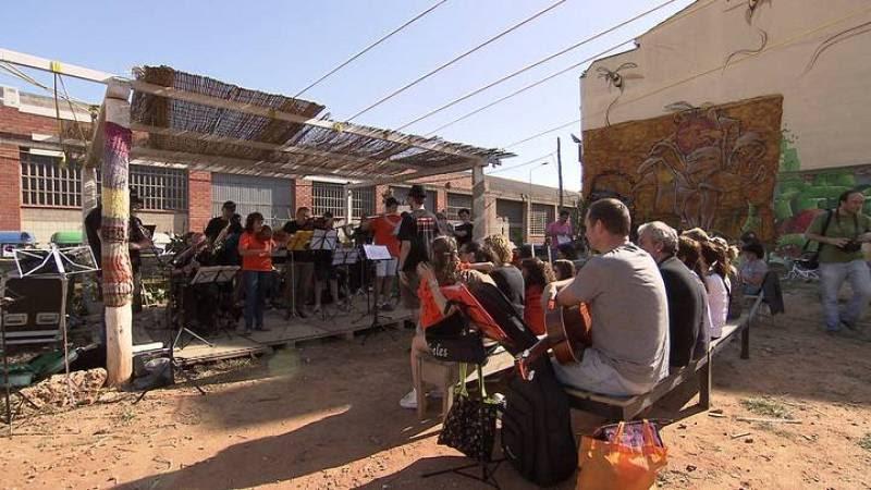 En el huerto se programan conciertos y actividades culturales abiertas a todo el mundo