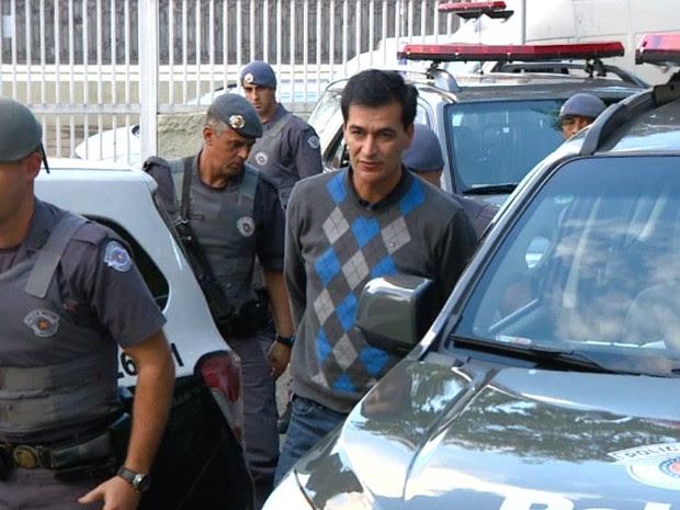 Prefeito de Indaiatuba Reinaldo Nogueira Operação Gaeco Baep (Foto: Reprodução EPTV)