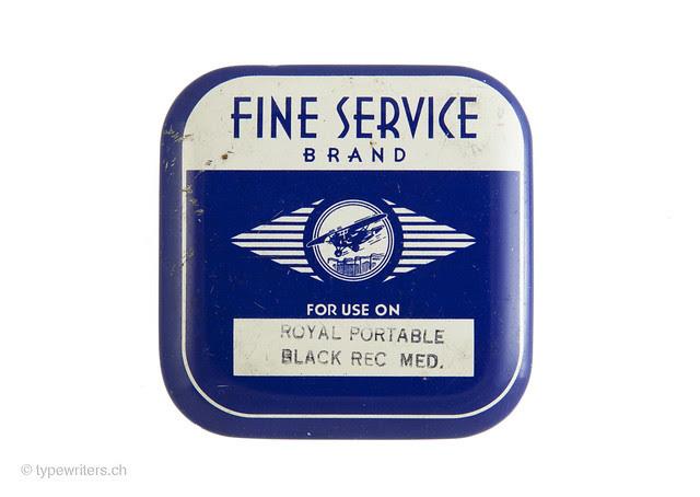 Farbbanddose Fine Service