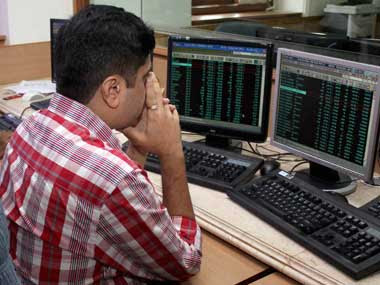 The stock markets crashed yesterday following a fall in the rupee value. PTI