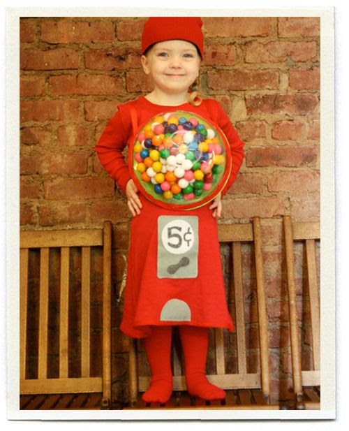 Gumball machine costume.. adorable! via Inchmark